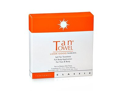 TanTowel Classic Self-Tan Towelette, 5 Count