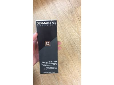 Dermablend Leg and Body Cover, SPF 15, Caramel - Image 9