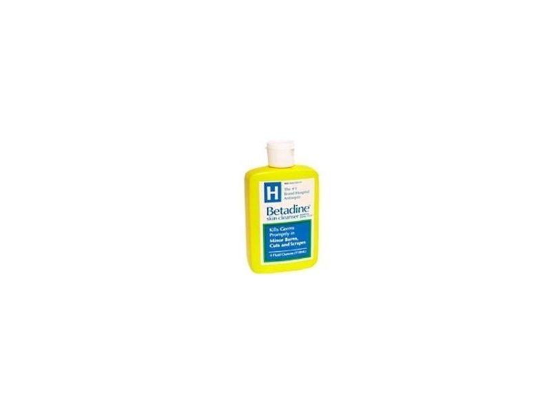 Betadine Skin Cleanser - 4 oz (Pack of 3)