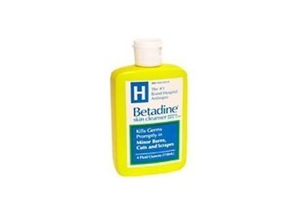 Betadine Skin Cleanser - 4 oz (Pack of 3) Ingredients and