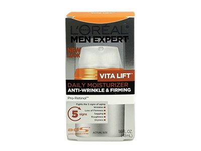 L'Oreal Mens Expert Vita Lift Anti-wrinkle and Firming Moisturizer - 1.6 Oz, Pack of 3