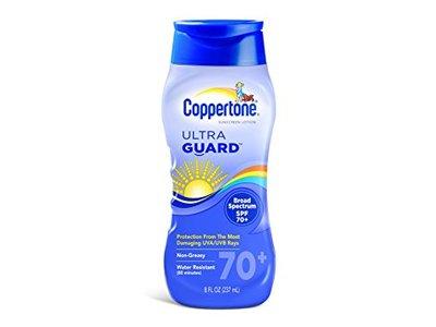 Coppertone Ultra Guard Sunscreen Lotion, SPF 70, 8 fl oz - Image 1