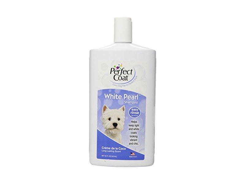 Perfect Coat White Pearl Shampoo for Dogs, Coconut Scent, 32 fl oz