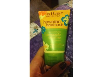 Alba Botanica Hawaiian Facial Scrub with Pineapply Enzyme, 4 Ounce (Pack of 6) - Image 5