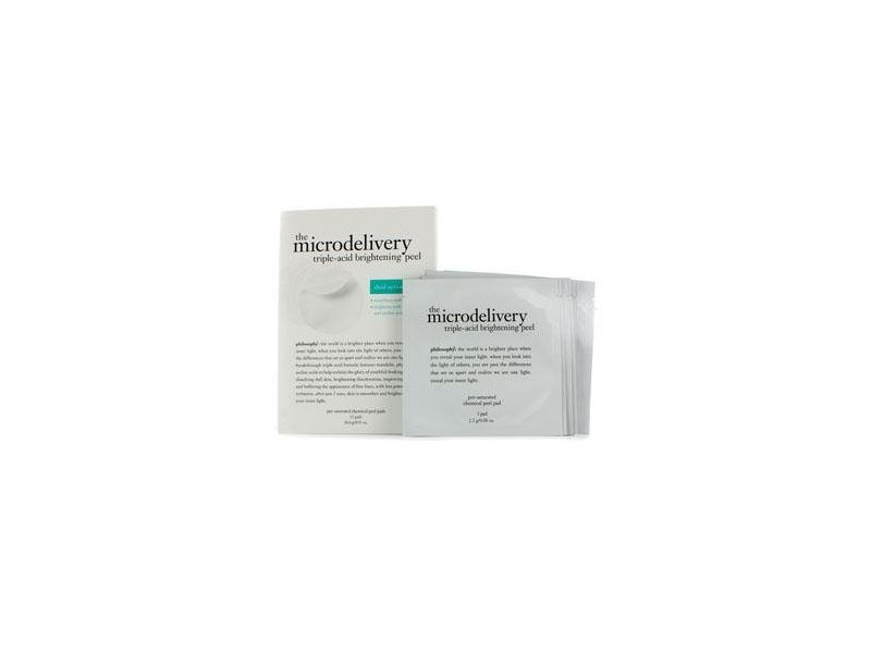 Philosophy The Microdelivery Triple-Acid Brightening Peel Pads, 12 count