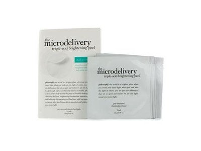 Philosophy The Microdelivery Triple-Acid Brightening Peel Pads, 12 count - Image 1