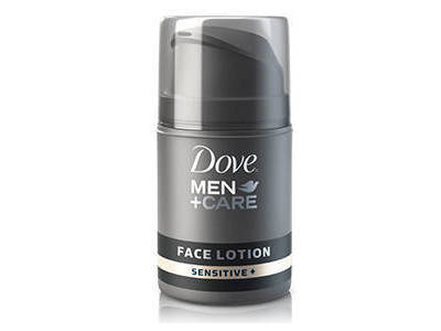 Dove Men+Care Face Lotion, Sensitive - Image 1