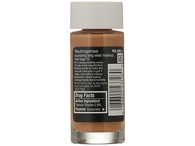 Neutrogena Nourishing Long Wear Liquid Makeup, Fresh Beige, 1 Fluid Ounce - Image 4