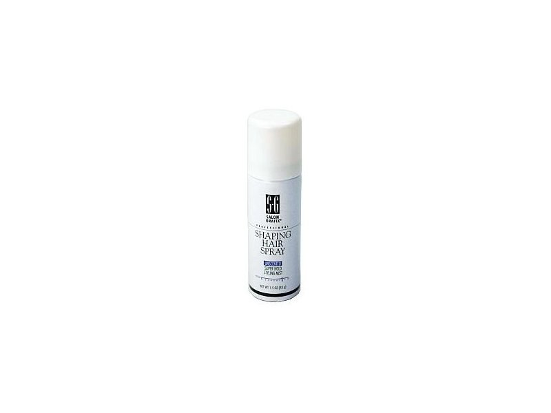Salon Grafix Professional Shaping Hair Spray, Unscented Super Hold, 1.5 oz