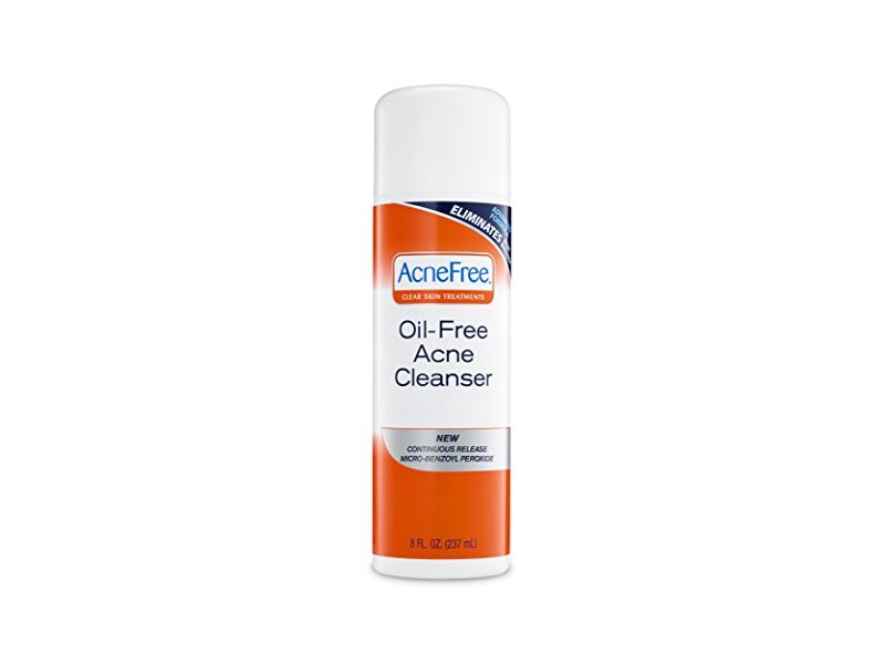 Acnefree Oil Free Acne Cleanser, 8 Ounce