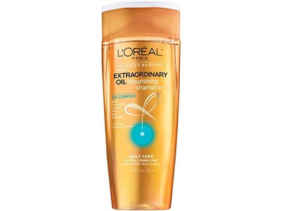 L'Oreal Paris Advanced Haircare Extraordinary Oil Nourishing Shampoo, 12.6 fl oz