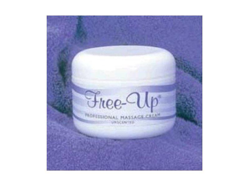 Free Up Massage Cream, Unscented, 16 oz