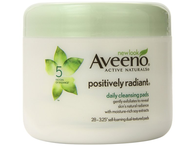 Aveeno Positively Radiant Daily Cleansing Pads, johnson & johnson