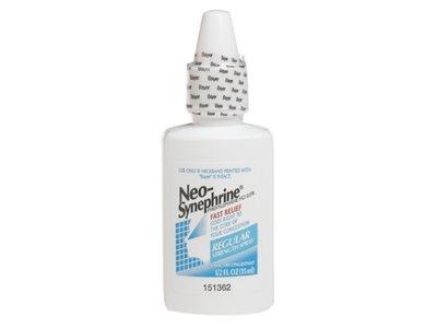 Neo-Synephrine Nasal Decongestant, Regular Strength Spray