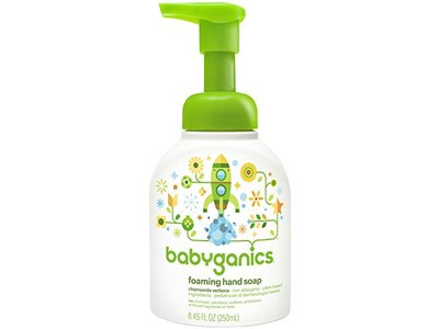 Babyganics Foaming Hand Soap - Chamomile Verbena - 8.45 oz