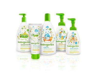 Babyganics Moisturizing Daily Lotion, Fragrance Free, 17 oz Pump Bottle - Image 4