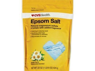 CVS Health Epsom Salt Green Tea & Chamomile