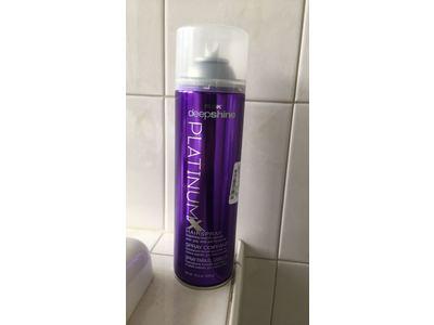 RUSK Deepshine PlatinumX Hairspray, 10 oz. - Image 3
