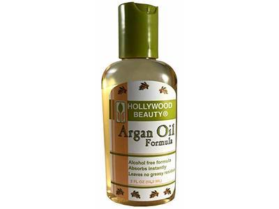 Hollywood Beauty oil, argan, formula, Gray, 2 Fl Oz