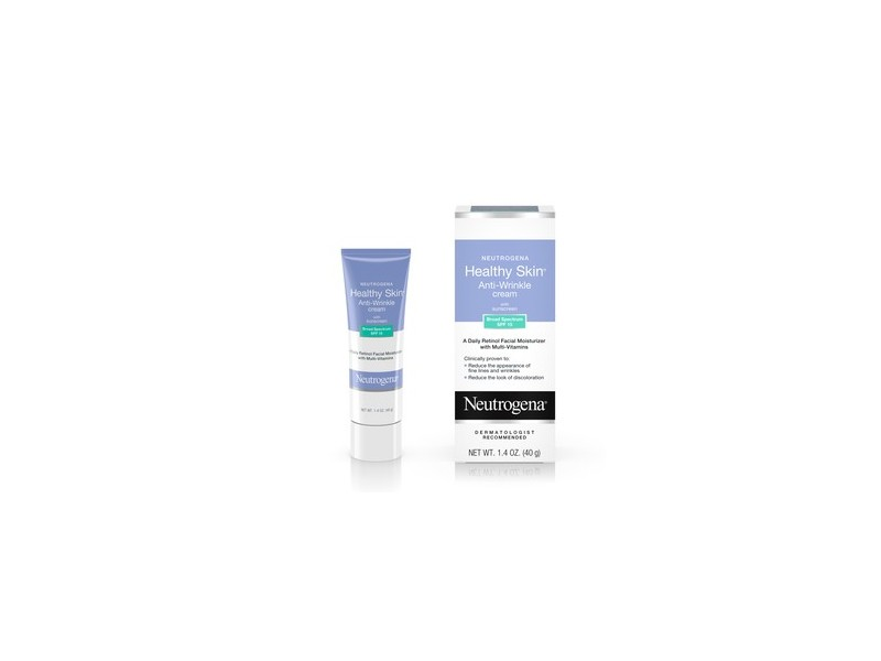 Neutrogena Healthy Skin Retinol & Anti Wrinkle Face Cream with SPF 15
