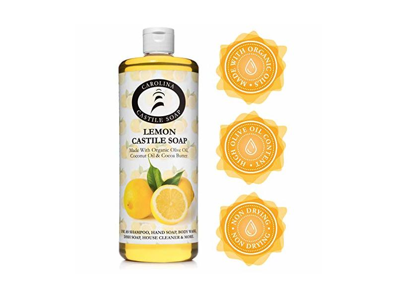 Carolina Castile Soap Liquid Lemon - 32 oz