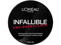 L'Oreal Paris Cosmetics Infallible Pro Sweep & Lock Loose Setting Powder, Translucent, 0.28 Ounce - Image 4