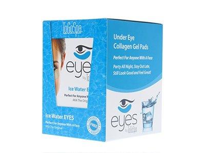 ToGoSpa Ice Water Eyes - Under Eye Collagen Gel Pads – 30 Pairs