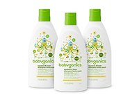 Babyganics Baby Shampoo with Squeeze Foamer Body Wash, Chamomile Verbena, 7 ounce - Image 2