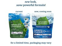 Seventh Generation Dishwasher Detergent Packs, Free & Clear, 90 count - Image 4