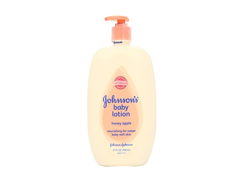 Johnson's Baby Lotion, Honey Apple 27 oz (Pack of 10)