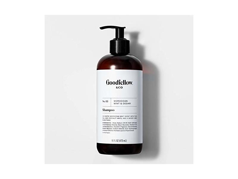 Goodfellow & Co 2-in-1 Shampoo & Body Wash, No. 03 Moroccan Mint & Cedar, 16 fl oz
