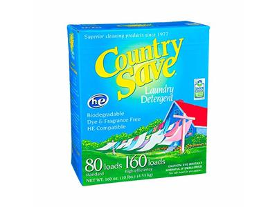 Country Save HE Laundry Detergent Powder, 160 Load, 160 oz / 10 lbs