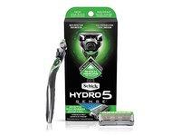 Schick Hydro Sense Sensitive Razors with Shock Absorbent Technology, 1 Razor Handle and 2 Razor Blades Refills - Image 3