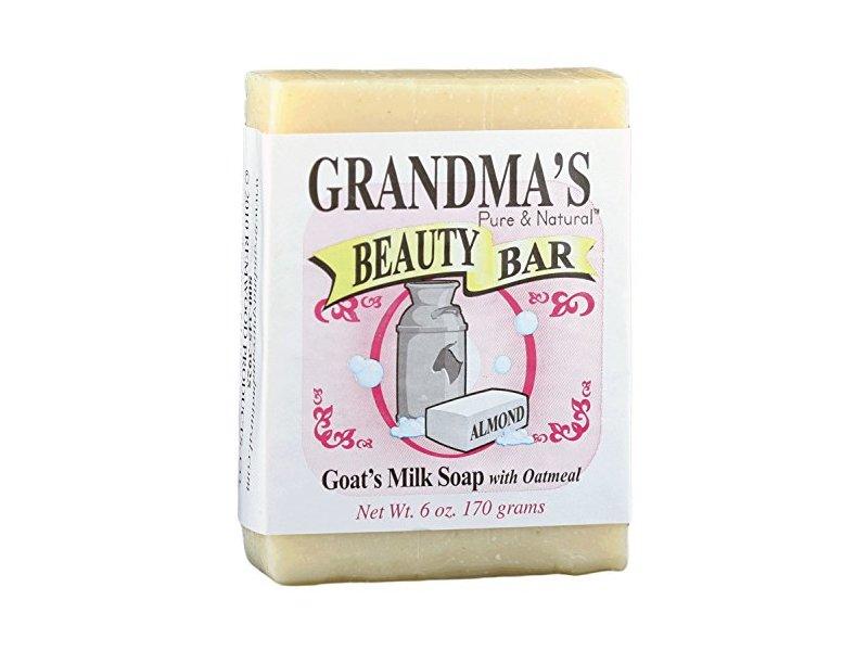 Grandma's Pure & Natural Beauty Bar, Almond, 4 oz