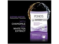 Pond's Evening Soothe Wet Cleansing Towelettes with Chamomile and White Tea, 30 Count - Image 5