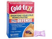 Cold-EEZE Plus Defense Cold-Shortening Lozenges, Citrus with Elderberry Flavor, 12 ct - Image 2
