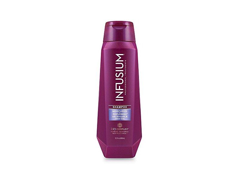 Infusium Moisturize & Replenish Shampoo, 13.5 Ounce