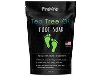 FineVine Tea Tree Oil Foot Soak with Epsom Salt - Image 2