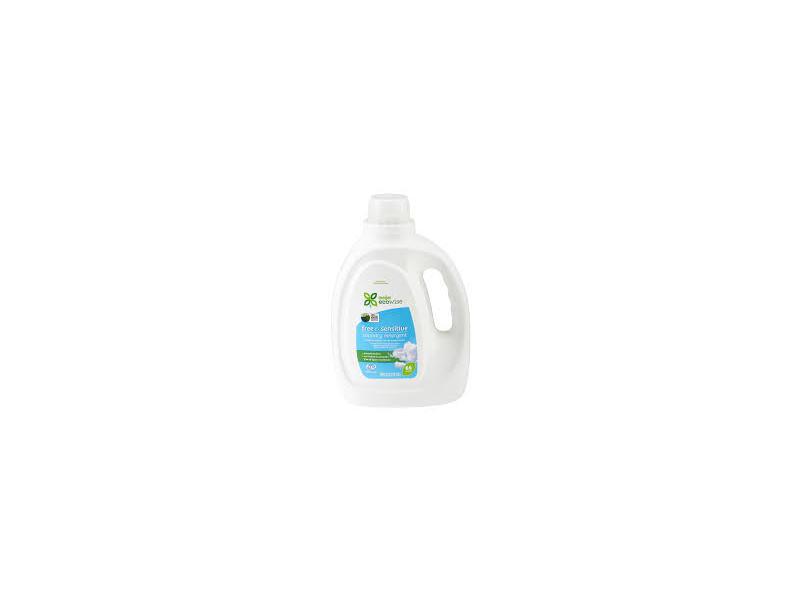Meijer Ecowise Free & Sensitive Laundry Detergent, 66 loads