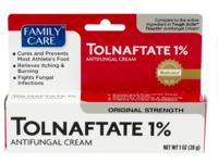 Family Care Tolnaftate 1% Antifungal Cream, Original Strength, 1 oz/28 g - Image 2