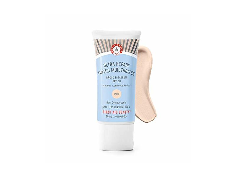 First Aid Beauty Ultra Repair Tinted Moisturizer SPF 30, Ivory, 30 mL