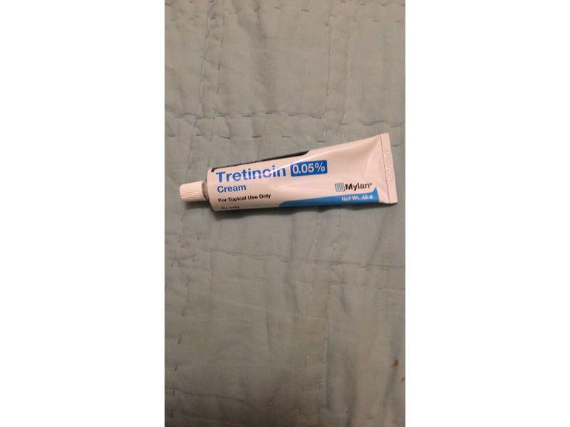 Tretinoin Cream 0.05% (RX), 45G, Mylan, Inc.