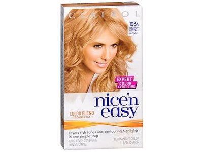 Clairol Nice 'N Easy Permanent Hair Color, 8 Medium Blonde, 1 ct