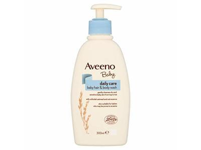 Aveeno Baby Daily Care Hair and Body Wash, 300 mL