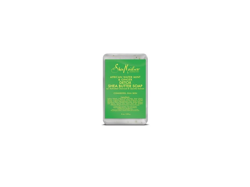 SheaMoisture African Water Mint and Ginger Detox Bar Soap