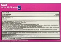 Rugby Clear up Acne Medication, Benzoyl Peroxide Gel USP 5%, 1.5 oz (2 tubes) - Image 3