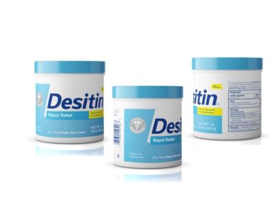 Desitin Rapid Relief Diaper Rash Cream, 16 oz
