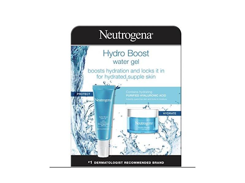 Neutrogena Hydro Boost Hyaluronic Acid Hydrating Water Face Gel, 2 Pack, 1.7 fl. oz Each