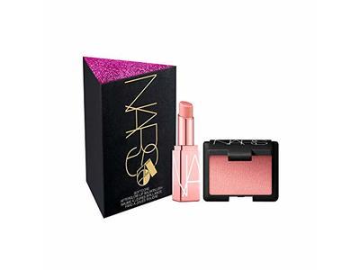 NARS Mini Blush + Balm Set in Orgasm, Mini Orgasm Blush & Mini Afterglow Orgasm Lip Balm
