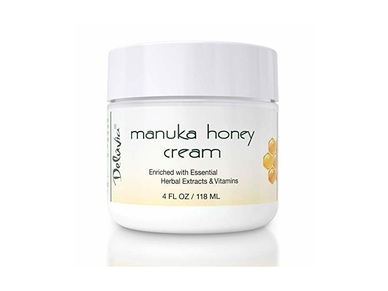 Deluvia Manuka Honey Cream, 4 fl oz/118 mL